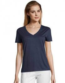 Women´s Flowy V-Neck T-Shirt Motion
